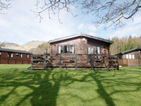 Beautiful Lodges near Loch Lomond